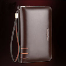 Men's Handbag briefcase Wallet Purse Genuine Leather AR196 Business Clutch Bag