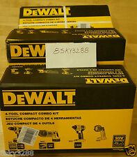 NEW DEWALT DCK425C  4-Tool 18-Volt Cordless Combo Kit