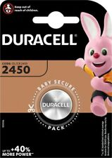 Duracell CR2450 3V Lithium-ion Coin Cell Battery