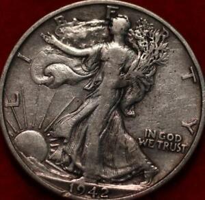 1942-S San Francisco Mint Silver Walking Liberty Half