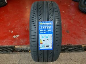 X1 245 45 18 245/45R18 100W XL LANDSAIL NEW TYRE WITH GREAT C,B RATINGS BARGAIN!