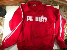 Cuy-arts.com Peru Soccer/football Red Jacket Mens Small full zip Alpaca