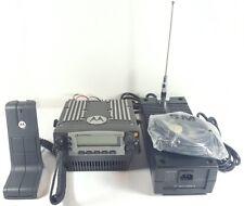 Motorola Xtl5000 Uhf 380 470 Mhz Base Station P25 Digital Radio M20qss9pw1an Xtl