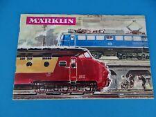 Marklin Katalogue 1965-66 NL