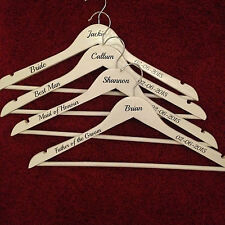 PERSONALISED VINYL DECALS/STICKERS FOR DIY COAT HANGERS - WEDDING