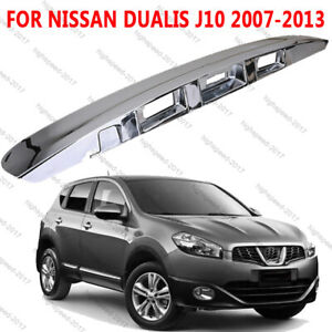 For Nissan Dualis J10 2.0L 4cyl 2007-2013 Tailgate Handle Garnish Cover No Hole