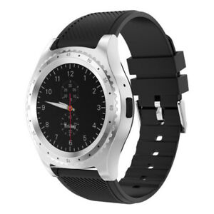 Bluetooth Smart Watch with Camera Sports Fitness Monitor Support SIM Card Watch