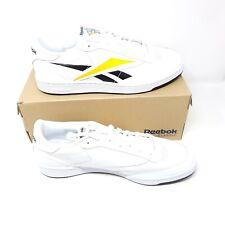 Reebok Club C 85 MU EF8839 Mens White Leather Lifestyle Sneakers US 15 UK 14