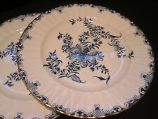 "ROYAL WORCESTER  MANSFIELD  PAIR OF SALAD PLATES  9.1/4"" IN DIAM 1950 / 60"
