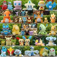 Nintendo Pokemon Plush Toy Lots Charcters Lovely Soft Stuffed Animal Doll