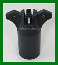 Trailer Light Adapter Plug 7 RV Flat Pins to 4 Flat