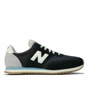 Men's New Balance Comp 100 Lace up Casual Trainers in Black
