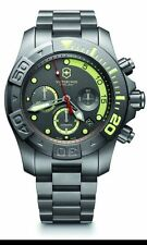 NEW Victorinox Swiss Army 500 DiveMaster Limited Edtn Automatic Titanium Watch