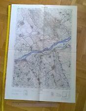 POZAREVAC Vrsac JNA Army Topographic MAP YUGOSLAVIA 1956  MILITARY PLAN CHART