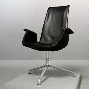 Walter Knoll FK 6725, Fabricius, Kastholm Schalensessel Leder Kill Chair