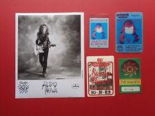 ALDO NOVA,promo photo,4 OTTO Backstage passes,RARE originals