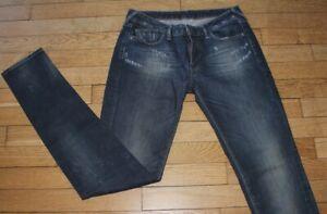 LE TEMPS DES CERISES Jeans pour Femme W 28 - L 34 Taille Fr 38 (Réf #O208)