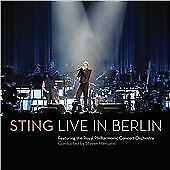 Live In Berlin, Sting The Royal Philharmonic Con, Audio CD, New, FREE & FAST Del