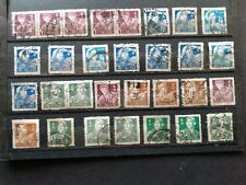 CHINA   -   used or precanceled stamps Miner & other issues (1955/1956)