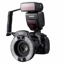 New YONGNUO YN14EX II Macro Flash for Canon Camera 100mm 60mm 7D 80D 6D T7I T6S