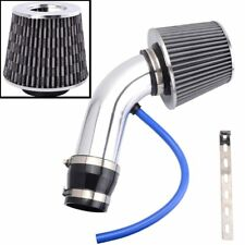 "3"" Air Intake Filter Cold Air Intake Hose Kit for Intake Racing System Sliver"