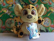 Neopets collectors series 4 Plush Spotted Mynci Keyquest Virtual Prize Code set