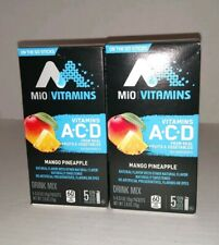 Set of 2: Mio Vitamins Drink Mix, Mango Pineapple - 5 pack each