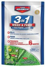 BAYER ADVANCED 3 in 1 Weed and Feed for Southern Lawns 12.5-lb 5000-sq ft Lawn