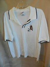 EUC Warner Bros. Studio Store Scooby-Doo Polo Shirt - White SZ Large L Bowling