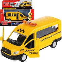 Ford Transit Russian Minibus Taxi Diecast Model Van Scale 1:43