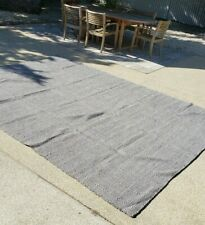 NEW 9 x 12 ft Nuloom GRAY white Rug West Elm Crate Barrel Pottery Barn MODERN