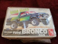 1979 Wild Hoss Ford Bronco 4x4 AMT Kit parts sealed in factory bags.