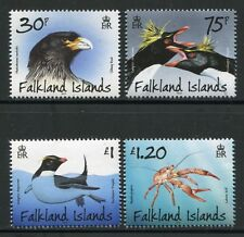 Falkland 2013 Pinguine Adler Vögel Krabben Crabs Eagle Penguins ** MNH