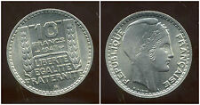 10 FRANCS  1947 B   grosse tete  rameaux courts     ( SPL )