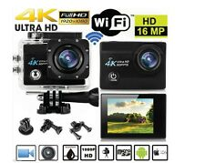 FOTOCAMERA PRO CAM WIFI 4K SUBACQUEA VIDEOCAMERA SD SPORT ULTRA HD 16MP 30M NEW