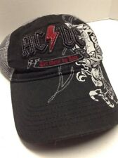 Ac/Dc Snapback Hat Let There Be Rock Baseball Cap