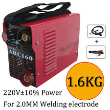 220v 1.5KG Micro arc160 inverter DC IGBT welding machine/equipment stick welder
