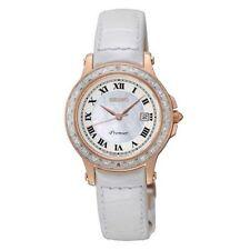 Relojes de pulsera Seiko Seiko Premier de acero inoxidable