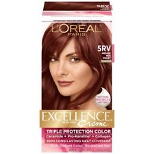 L'Oreal Excellence Richesse 5RV Medium Red Violet Hair Color