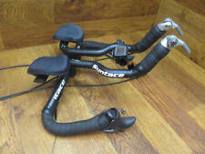 SYNTACE C2 TRIATHLON AERO BAR SL-BS64 8 SPEED SHIFTERS 600 BL-6400 BRAKE LEVERS