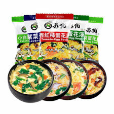 Instant Vegetable Soup Fast Food Different Tastes Delicious Chinese Healthy Food