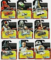 Hot Wheels STAR WARS Character Cars YOU CHOOSE - SAVE ON 2+ Shipping Diecast car