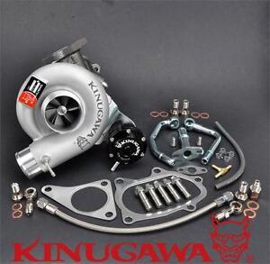 Kinugawa Turbo For SUBARU Impreza WRX STI TD05H-16G 8cm ~08 w/ Forge Actuator
