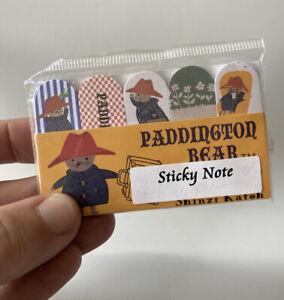 Paddington Bear Sticky Notes By Shinzi Katoh