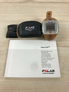 Polar FT4 Fitness Watch + Heart Rate Waist Band + Manual + New Battery