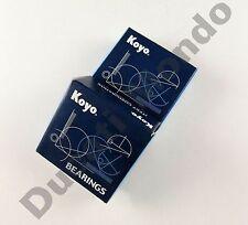 Koyo Rueda Delantera De Rodillos rodamientos de bolas Par Set Para Aprilia Rs125 99-05 00 01 02