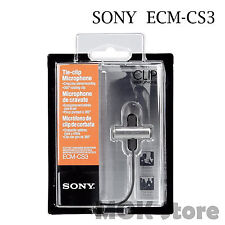 Sony ECM-CS3 Clip style Omnidirectional Stereo ECM CS3 Business Microphone