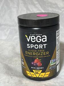 Vega Sport Sugar Free Energizer Acai Berry - Vegan Certified Keto-Friendly Gl...