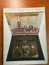 Crosby, Stills, Nash, & Young - 2 Album Song Book (back cover missing)
