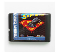 The Death And Return Of Superman 16 bit MD Game Card For Sega Mega Drive Genesis